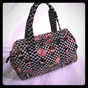 Harajuku Lovers Black & White Checker Handbag